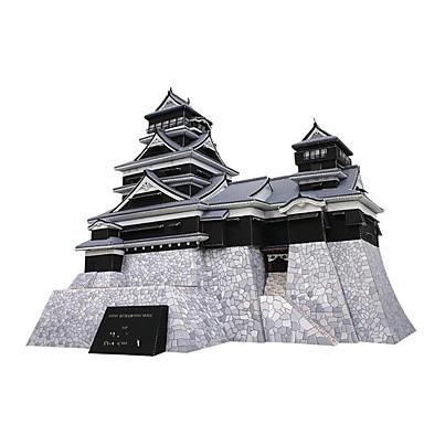 3D - Puzzle Papiermodel Modellbausätze Spielzeuge Quadratisch Berühmte Gebäude Architektur Bär Heimwerken Hartkartonpapier keine Angaben