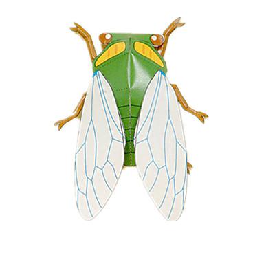 3D-puzzels Bouwplaat Papierkunst Modelbouwsets Insect Dier Simulatie DHZ Klassiek Kinderen Unisex Geschenk