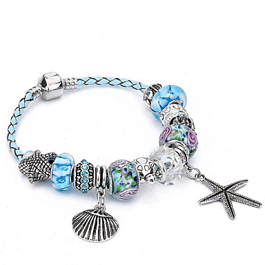 Damen Bettelarmbänder Strang-Armbänder Kristall Strass Luxus Natur Freundschaft Modisch Geschenkboxen & Taschen Krystall Strass Zink