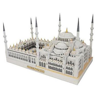 قطع تركيب3D نموذج الورق مجموعات البناء ألعاب مربع بناء مشهور Church معمارية اصنع بنفسك ورق صلب غير محدد قطع