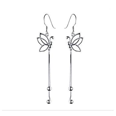 Pentru femei Cercei Picătură Ciucure Euramerican Modă Aliaj Fluture Bijuterii Argintiu Zilnic Casual Costum de bijuterii