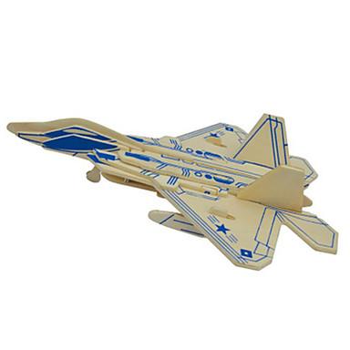 Puzzle 3D Puzzle Metal Modelul lemnului Μοντέλα και κιτ δόμησης Jucarii Aeronavă Reparații Lemn natural Ne Specificat Bucăți