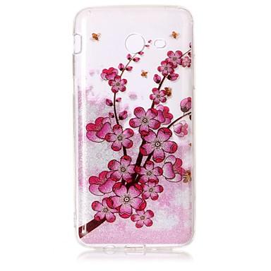Hülle Für Samsung Galaxy J7 (2016) J5 (2016) IMD Muster Rückseite Blume Glänzender Schein Weich TPU für J7 V J7 Perx J7 (2016) J5 (2016)