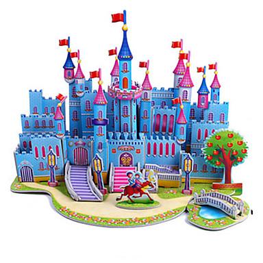 3D - Puzzle Holzpuzzle Modellbausätze Burg Berühmte Gebäude Architektur Heimwerken Hartkartonpapier Klassisch Anime Zeichentrick Kinder