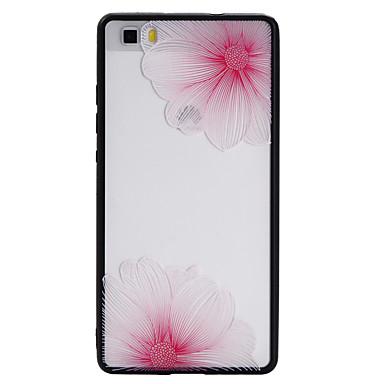 Fall für huawei p8 lite p9 lite Fallabdeckung Blumenmuster tpu plus PC kombinierte Materialentlastung scheuern Telefonkasten