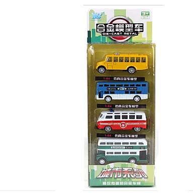 Speelgoedauto's Speeltjes Motorfietsen Speeltjes Rechthoekig Bus Metaallegering Stuks Niet gespecificeerd Geschenk