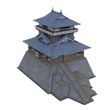 3D - Puzzle Papiermodel Modellbausätze Papiermodelle Spielzeuge Burg Berühmte Gebäude Chinesische Architektur Architektur 3D Heimwerken