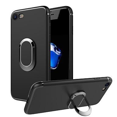 hoesje Voor Apple iPhone 7 Plus iPhone 7 Ringhouder Achterkant Effen Kleur Zacht TPU voor iPhone 7 Plus iPhone 7 iPhone 6s Plus iPhone 6s