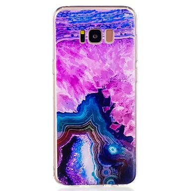 Hülle Für Samsung Galaxy S8 Plus S8 Muster Rückseitenabdeckung Marmor Weich TPU für S8 S8 Plus S7 edge S7 S6 edge S6
