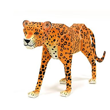 قطع تركيب3D نموذج الورق أشغال الورق مجموعات البناء الحيوانات اصنع بنفسك ورق صلب كلاسيكي للأطفال للجنسين هدية