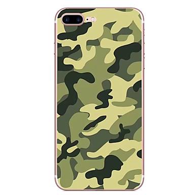 Caz pentru Apple iPhone 7 7 plus caz acoperire camuflaj model hd pictat tpu material caz moale caz telefon pentru iphone 6s 6 plus