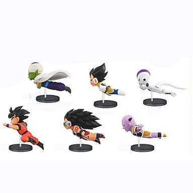 Anime Action Figures geinspireerd door Dragon Ball Son Goku PVC 8 CM Modelspeelgoed Speelgoedpop