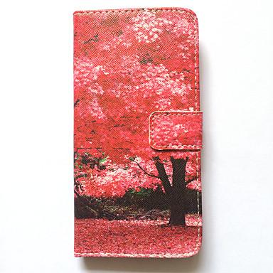 غطاء من أجل iPhone 6s Plus أيفون 6بلس Apple حامل البطاقات محفظة مع حامل قلب نموذج غطاء كامل للجسم شجرة قاسي جلد PU إلى iPhone 6s Plus