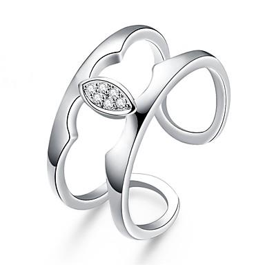 Dames Ring Zirkonia Gepersonaliseerde Luxe Cirkelvormig ontwerp Meetkundig Uniek ontwerp Tatoeagestijl Klassiek Vintage Bohémien