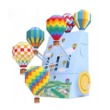 3D - Puzzle Bälle Papiermodel Ballons Papiermodelle Modellbausätze Sphäre 3D Heimwerken Aufblasbar Party Geburtstag Klassisch Unisex