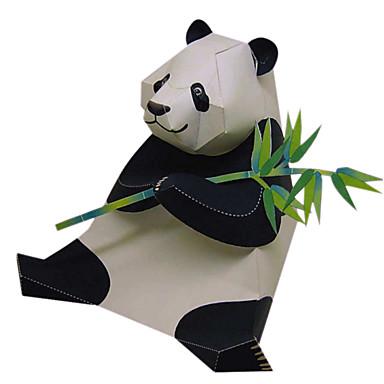 3D - Puzzle Papiermodel Modellbausätze Papiermodelle Quadratisch Ente Bär 3D Panda Tiere Heimwerken Simulation Klassisch Alle