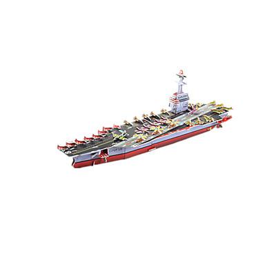 3D-puzzels Modelbouwsets Speeltjes Oorlogsschip Vliegdekschip Schip DHZ Korkealaatuinen paperi Niet gespecificeerd Unisex Stuks