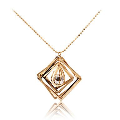 Dames Geometrische vorm Gepersonaliseerde Meetkundig Uniek ontwerp Hypoallergeen Movie Jewelry Opvallende sieraden Kwastjes Modieus
