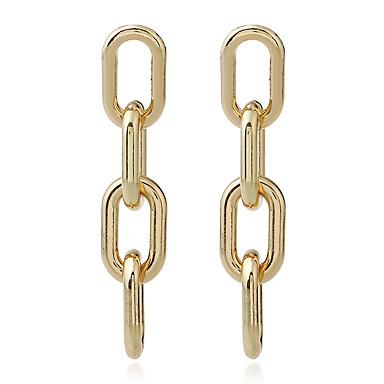 Damen Tropfen-Ohrringe Imitierte Perlen Basis individualisiert Aleación Einzelkette Schmuck Für Alltagskleidung Normal Bühne