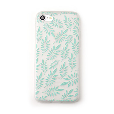 Case voor apple iphone 7 plus 7 case cover frosted doorzichtig patroon achterkant hoesje bloem boom soft tpu voor iphone 6s plus 6 plus 6s