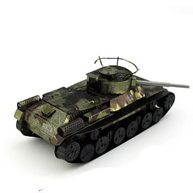 3D-puzzels Legpuzzel Metalen puzzels Speeltjes Tank DHZ Metaal Niet gespecificeerd Stuks