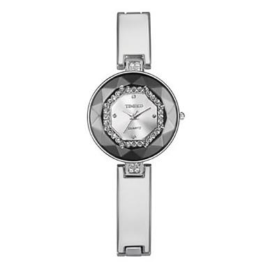 Dames Modieus horloge Kwarts Legering Band Zwart Wit Paars