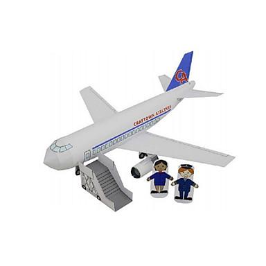 Jucării pentru mașini Puzzle 3D Modelul de hârtie Aeronavă Tren Navă Autobuz Reparații Clasic Tren Mașini de Poliție Vehicul Ambulanță