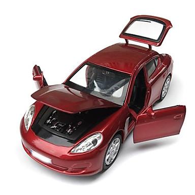 Speelgoedauto's Gegoten voertuigen Speeltjes Motorfietsen Speeltjes Simulatie Rechthoekig Paard Metaallegering Rauta Stuks Unisex Jongens
