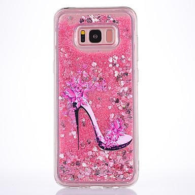 Maska Pentru Samsung Galaxy S8 Plus S8 Scurgere Lichid Transparent Model Carcasă Spate Femeie Sexy Moale TPU pentru S8 S8 Plus S7 edge S7