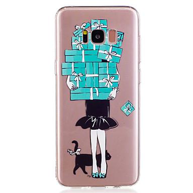 hoesje Voor Samsung Galaxy S8 Plus S8 Patroon Achterkantje Sexy dame Zacht TPU voor S8 S8 Plus S7 edge S7 S6 edge S6