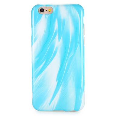Hülle Für Apple iPhone 7 Plus iPhone 7 IMD Rückseite Feder Weich TPU für iPhone 7 Plus iPhone 7 iPhone 6s Plus iPhone 6s iPhone 6 Plus
