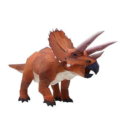 3D - Puzzle Papiermodel Spielzeuge Quadratisch Dinosaurier 3D Heimwerken Simulation Hartkartonpapier keine Angaben Stücke