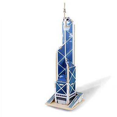 Robotime Puzzle 3D Puzzle Modele de Lemn Clădire celebru Arhitectură 3D Reparații Lemn Clasic 6 ani și peste