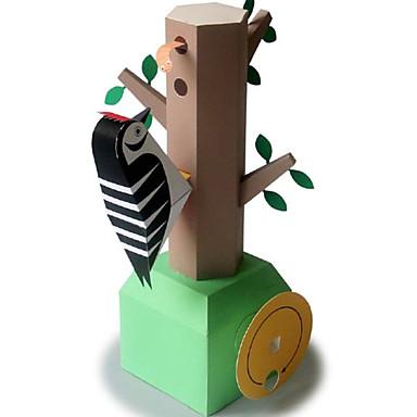 3D - Puzzle Papiermodel Modellbausätze Spielzeuge Quadratisch Vogel 3D Heimwerken keine Angaben Stücke