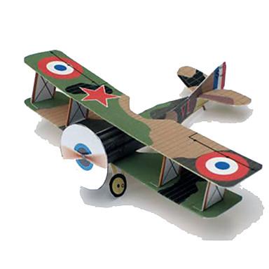 3D-puzzels Bouwplaat Speelgoedzweefvliegtuigen Papierkunst Modelbouwsets Vierkant Vliegtuig 3D Simulatie DHZ Hard Kaart Paper Klassiek