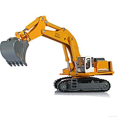 Spielzeug-Autos Spielzeuge Motorräder Baustellenfahrzeuge Aushubmaschine Spielzeuge Rechteckig Aushebemaschinen Metalllegierung Eisen