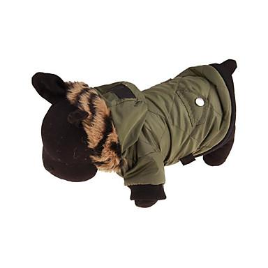 Hund Mäntel Kapuzenshirts Hundekleidung Atmungsaktiv Lässig/Alltäglich Solide Kostüm Für Haustiere