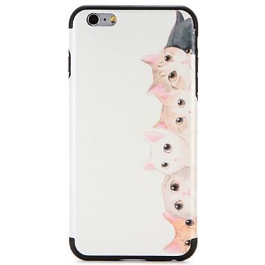 Caz pentru Apple iphone 7 plus iphone 7 acoperă modelul spate acoperă caz pisică moale tpu pentru iphone 6s plus iphone 6 plus iphone 6s