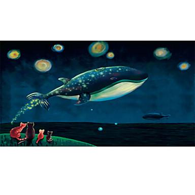 Puzzle Pisici Pești MOON De lemn Anime Unisex Cadou