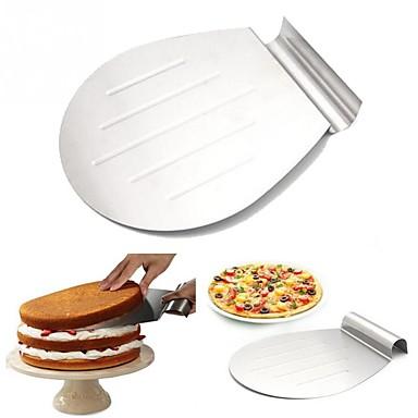 1 Materiale pentru torturi Pâine Tort Biscuiți Pizza pentru Pie pentru pizzaOțel inoxidabil + ABS clasă A Oțel inoxidabil / Fier Oțel