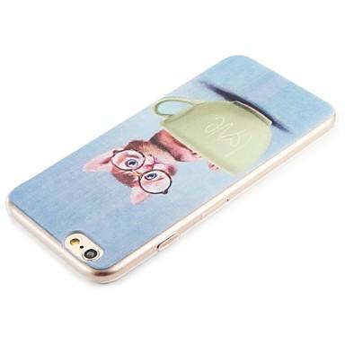 Per iPhone Custodia Plus iPhone iPhone disegno Apple Fantasia retro 7 Morbido 7 Plus 7 06162140 6s Plus iPhone Per TPU 7 Gatto per iPhone iPhone 4w4xnRz