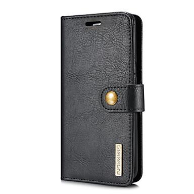 Maska Pentru Samsung Galaxy S8 Plus S8 Titluar Card Portofel Cu Stand Întoarce Carcasă Telefon Culoare solidă Greu PU piele pentru S8