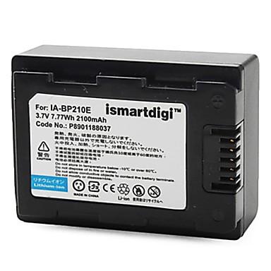 Estemartdigi bp210 3.7V 1200mah camera pentru baterie samsung ia-bp210e f70 f50 f40 f800 f900