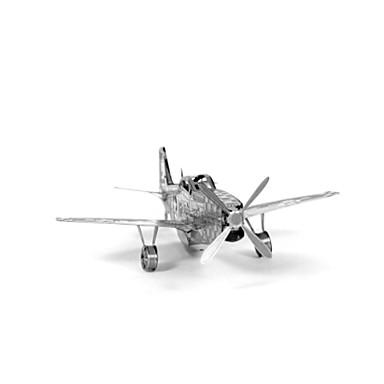 تركيب تركيب معدني دبابة طيارة المقاتل حصان 3D مواد تأثيث اصنع بنفسك الفولاذ المقاوم للصدأ معدن للجنسين هدية