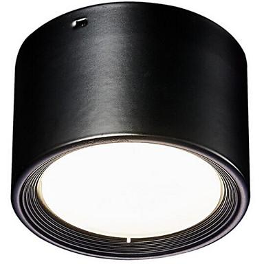 1pcs 9w led lumina de jos lumina calda galben / cald alb / alb ac220v gaura de dimensiune 100mm