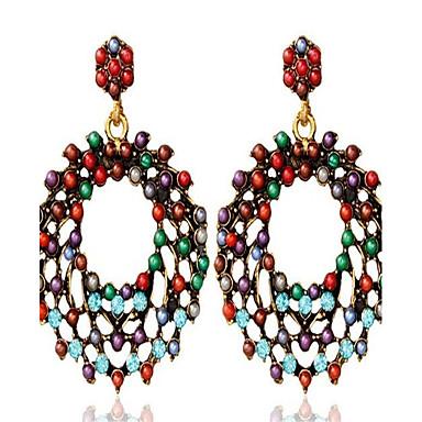 Damen Ohrringe Set Böhmen-Art individualisiert überdimensional Modisch Aleación Runde Form Schmuck Für Alltag Ausgehen Festtage