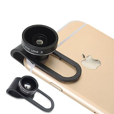 Aszune cp65 12 lentilă pentru telefoane mobile 160 lentilă pentru ochi de pește 0.65x obiectiv cu unghi larg de 10x sticlă de aluminiu din