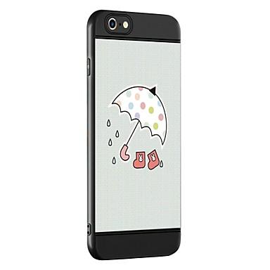 Fall für Apfel iphone 7 7 plus Fallabdeckung Regenschirmmuster Verdickung tpu materieller Spraytelefonkasten für iphone 6 6s 6 plus 6s