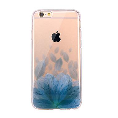 Pentru iPhone X iPhone 8 Carcase Huse Ultra subțire Transparent Model Carcasă Spate Maska Floare Moale TPU pentru Apple iPhone X iPhone 8