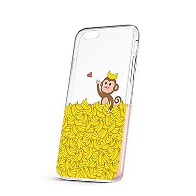 Caz pentru iphone 7 6 maimuță tpu soft ultra-subțire spate cover case cover iphone 7 plus 6 6s plus se 5s 5 5c 4s 4